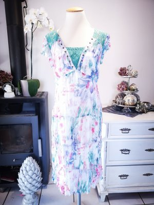 Biba Lace Dress multicolored