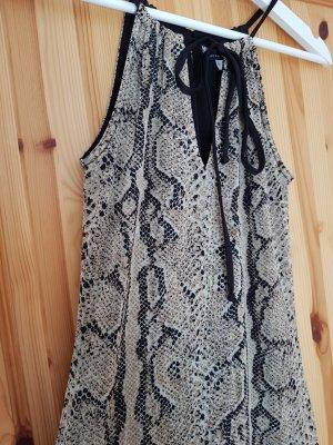 NEUES Kleid von Morgan mit Animalprint Trend Blogger Musthave