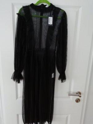 NÜ Denmark Kanten jurk zwart