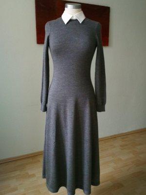 Ralph Lauren Woolen Dress silver-colored