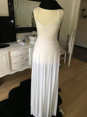 Neues Kleid weiß Bodenlang mit Etikett