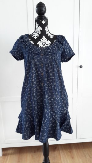Blanco Denim Dress blue