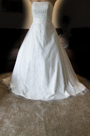 Lilly Robe de mariée beige clair polyester