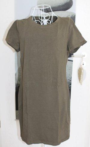 H&M T-shirt groen-grijs-khaki