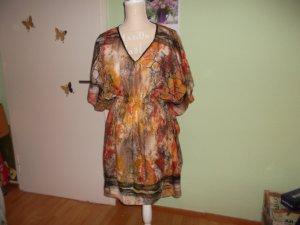neues longoberteil/blusenkleid,uni,sommerlich bunt,luftig