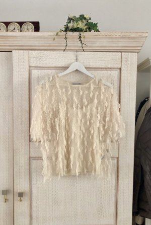 Zara Cropped Top cream