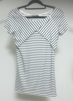 Orsay Gestreept shirt wit-donkerblauw