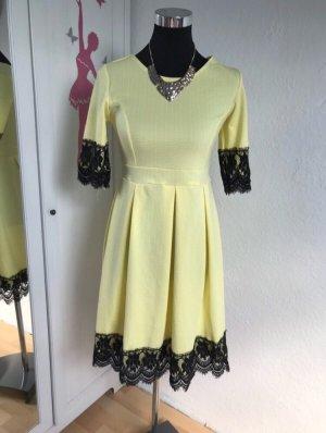 Midi Dress primrose-black