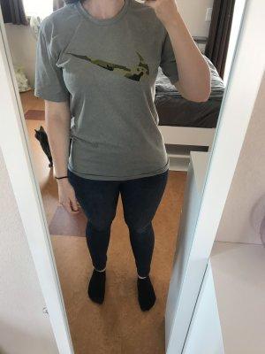 Nike Maglietta sport grigio chiaro