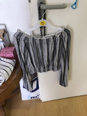 Neues off shoulder croped Shirt mit etikett