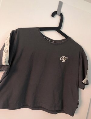 T-shirt antracite-crema