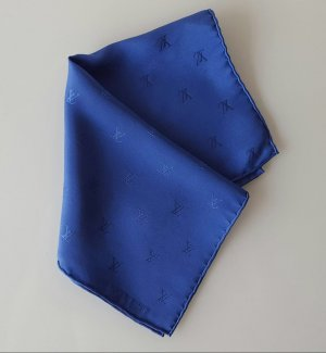 Louis Vuitton Fazzoletto da collo blu