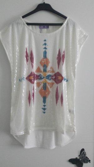 Neues Paietten Shirt gr 40 42