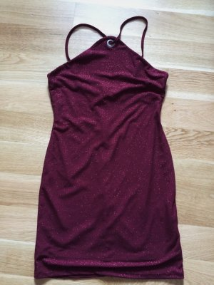 Topshop Mini Dress carmine polyester