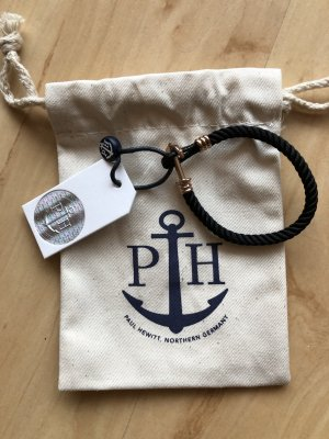 Neues Paul Hewitt Armband Schwarz Roségold
