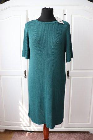 Neues Petrol farbendes Kleid von Zara Größe S