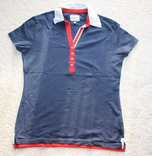 Neues Polo T-Shirt in blau