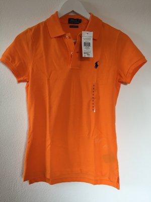 NEUES Poloshirt in frischem Orange