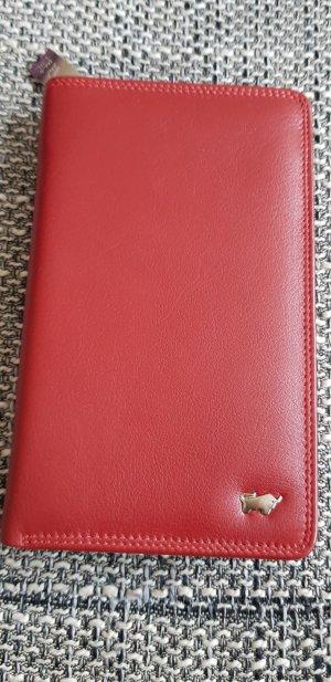 Wallet dark red