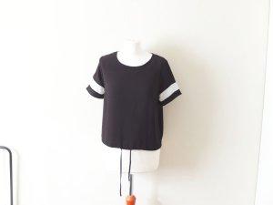 neues Primark Shirt Gr. 40 schwarz weiß T-Shirt atmosphere