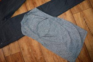 Bershka Haut tricotés gris foncé-gris clair