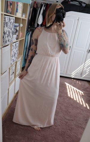 Neues rosa rose Maxi Kleid von Vila Größe S 36