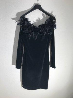 Neues Samt Kleid, Gr.S/M