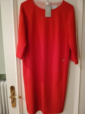 NEUES schickes Bogner Kleid halbarm rot Gr 38 mit dünnem Unterkleid