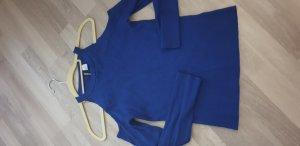 H&M One Shoulder Top blue