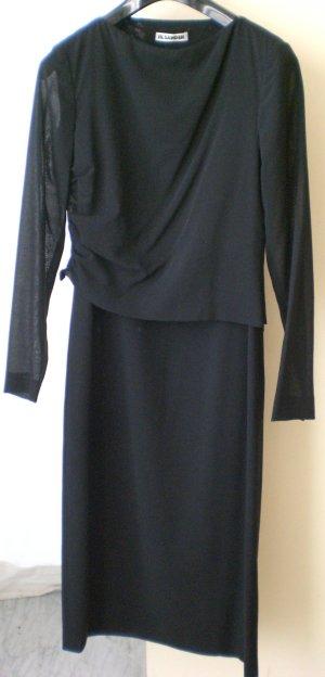 Neues schwarzes Jil Sander Kleid