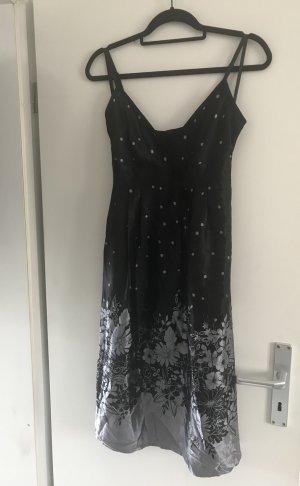 Neues Schwarzes Kleid aus Seide von Ted Baker