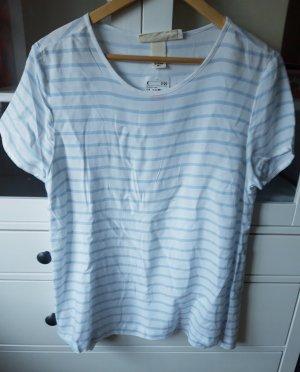 NEUES Shirt gestreift hellblau/weiß