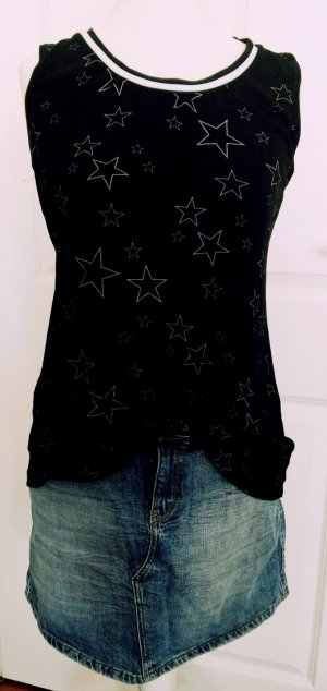neues shirt.vokuhila stern gr.m schwarz