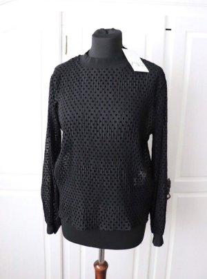 Neues Shirt von Zara Größe M mit Punkten transparent