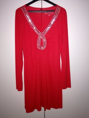 Neues Shirtkleid in rot Gr. 38