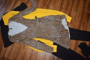 H&M Divided Stretch jurk lichtbruin-donkerbruin