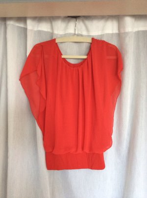 Neues stylisches Chiffon-Top in ROT