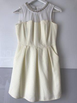 NEUES süßes Kleid mit Perlenbesatz in S