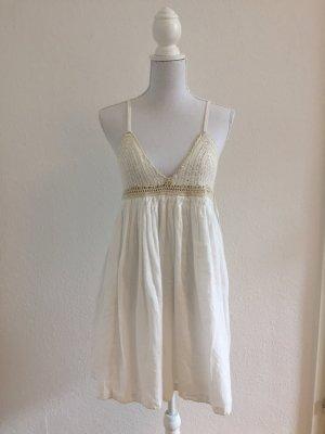 Neues Süßes Sommerkleid in creme