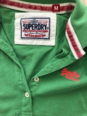 *Neues Superdry Polohemd in grün M**