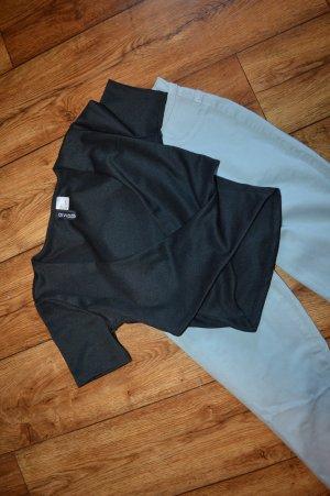 H&M Divided Wraparound Shirt black
