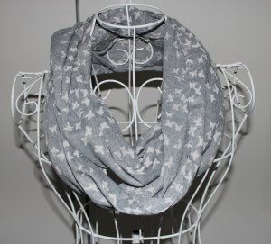 Pañoleta gris-blanco