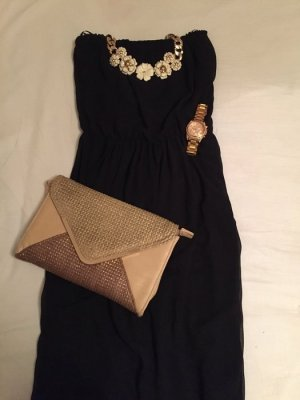 Neues, ungetragenes Maxi Kleid in schwarz, Größe S