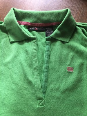 Polo Jeans Co. Ralph Lauren Polo vert-rose coton