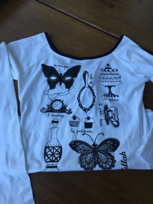 Neues ungetragenes Shirt von KILLAH , Gr. S/ M, Hingucker, hoher NP: EUR 99, BlacknWhite