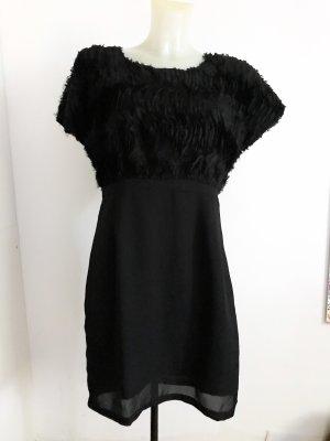 Vero Moda Volante jurk zwart