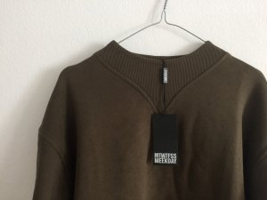 Neues Weekday Ally Sweatshirt Kleid / dress Gr. M