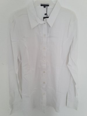 More & More Blouse-chemisier blanc coton