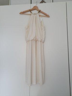 MSK Halter Dress white-gold-colored