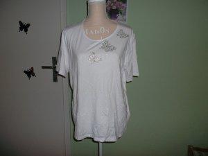 Clarina Camiseta blanco Viscosa